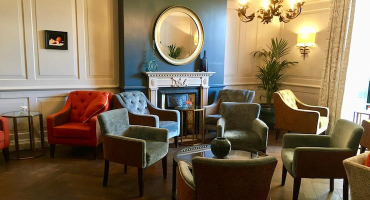 Lounge, The Gonville Hotel, Cambridge. Copyright Gretta Schifano