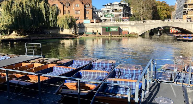 Punts, Cambridge. Copyright Gretta Schifano
