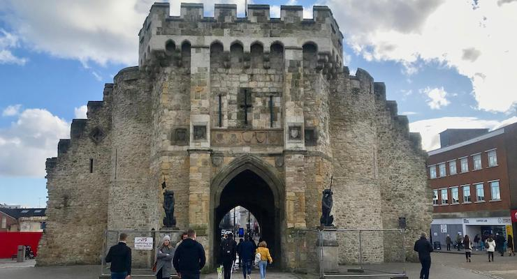 The Bargate, Southampton. Copyright Sal Schifano