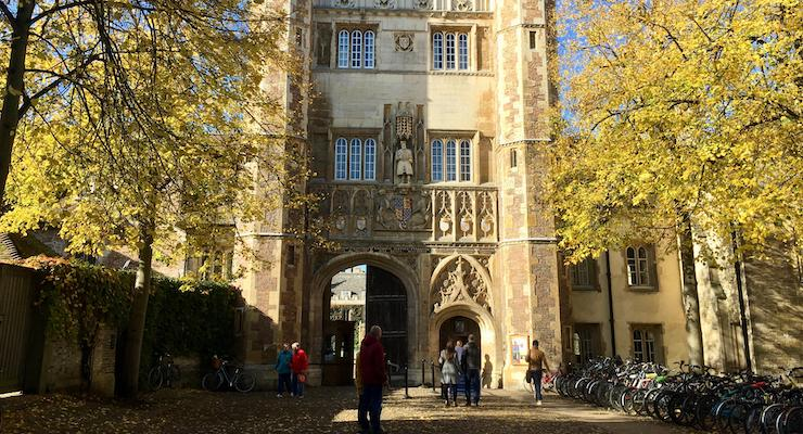 Trinity College, Cambridge. Copyright Gretta Schifano