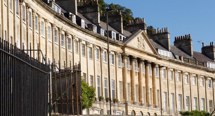 Camden Crescent, Bath. Copyright Visit Bath