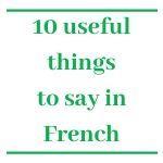 Download free French printable language worksheet