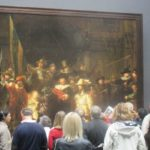 The Night Watch, Rembrandt, Rijksmuseum, Amsterdam. Copyright Gretta Schifano. How to explore Amsterdam from home - virtual online museum & gallery tours