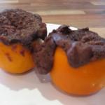 orange baked muffins