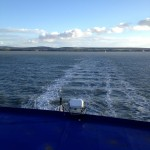 View from a ferry. Copyright Gretta Schifano