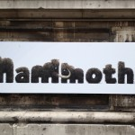 Mammoths exhibition sign. Copyright Gretta Schifano