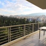 Balcony, Athens apartment. Copyright Gretta Schifano