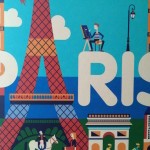 Detail from Stickyscape Paris cover
