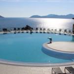 One of the pools at Dubrovnik Sun Gardens. Image copyright Gretta Schifano