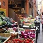 Street market, Bologna. Copyright Gretta Schifano