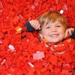 Buried in red LEGO. Copyright Brick 2015