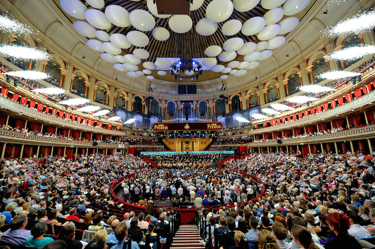 BBC Proms, Royal Albert Hall, London, by Chris Christodoulou