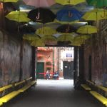 Street art, Cathedral Quarter, Belfast. Copyright Gretta Schifano