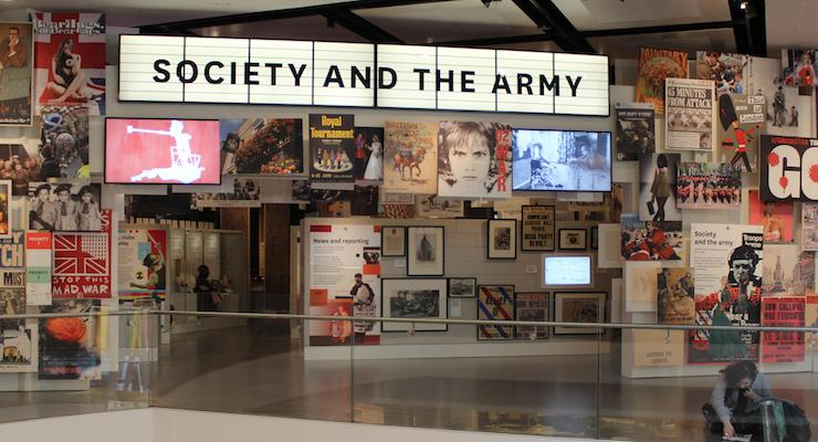 Society gallery, National Army Museum, London. Copyright Gretta Schifano
