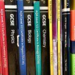 GCSE revision guides. Copyright Gretta Schifano