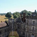 View of Green Court from Gatehouse Tower, Knole, Kent. Copyright Gretta Schifano
