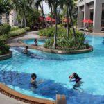 Swimming pool, Amari Watergate Bangkok. Copyright Gretta Schifano