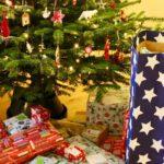 Christmas tree & presents. Copyright Gretta Schifano