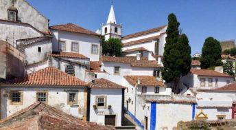 View of Óbidos, Portugal. Copyright Gretta Schifano
