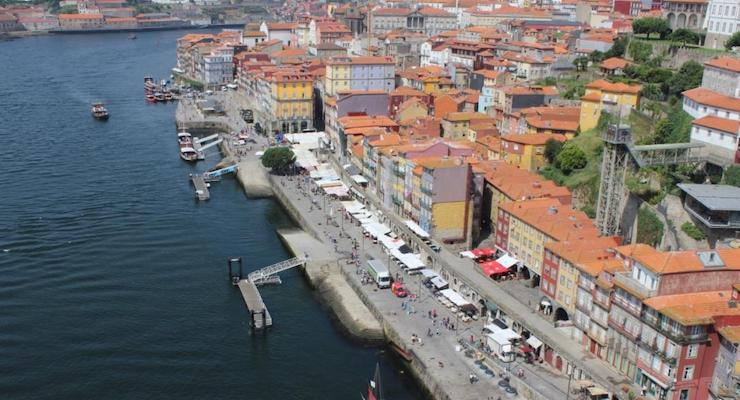 View of Porto, Portugal, copyright Gretta Schifano