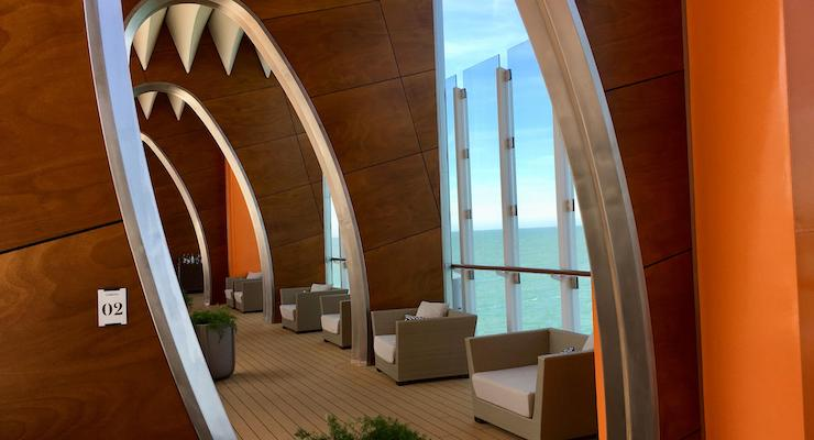 Resort deck, Celebrity Edge. Copyright Gretta Schifano
