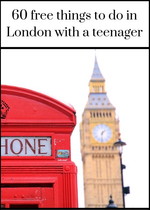 If you're visiting London with a teenager, there are loads of amazing free things to see and do in the city. From live music to West End theatre performances, from world-class museums and galleries to unique festivals and royal events, there's a wealth of interesting things available to see at no cost to you in the city all year round. Click through for full details of 60 brilliant free things to see and do in London with a teenager (and they're also great even without a teenager in tow):