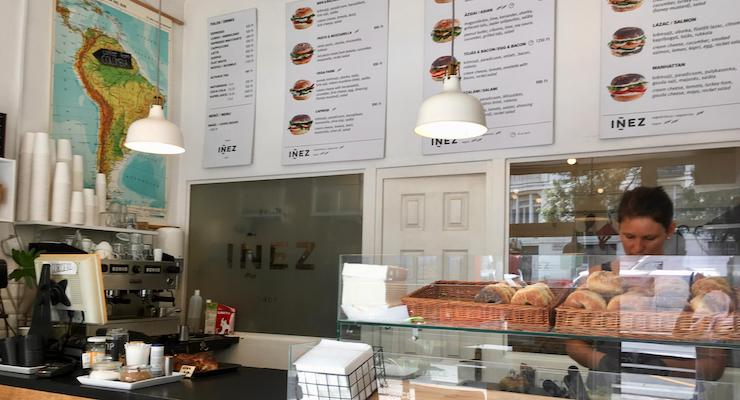 Iñez Bagel Shop, Budapest. Copyright Gretta Schifano