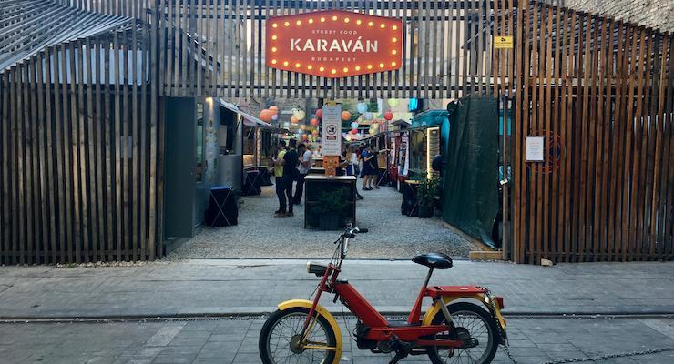 Karavan Street Food, Budapest. Copyright Gretta Schifano